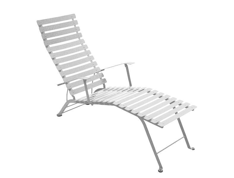 Fermobin taittuva bistro lepotuoli for Bistro chaise longue
